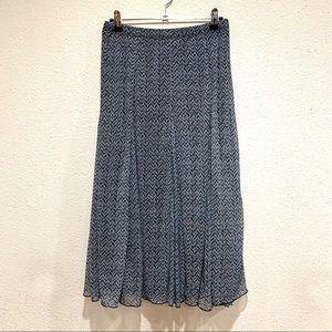 Coldwater Creek Midi Skirt (PS 6-8)